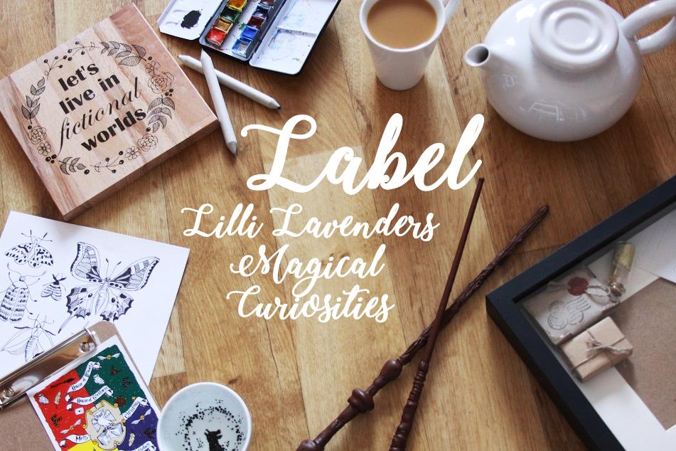Label Lilli Lavenders Magical Curiosities